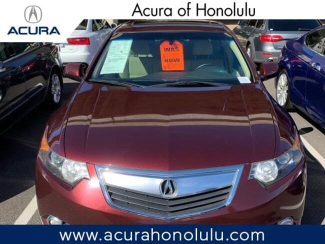 Used 2011 Acura TSX 5-Speed Automatic with Technology Package Sedan Honolulu, HI