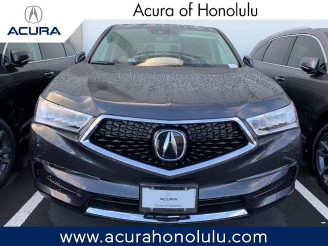 New 2019 Acura MDX SH-AWD with Technology and Entertainment Packages SUV Honolulu