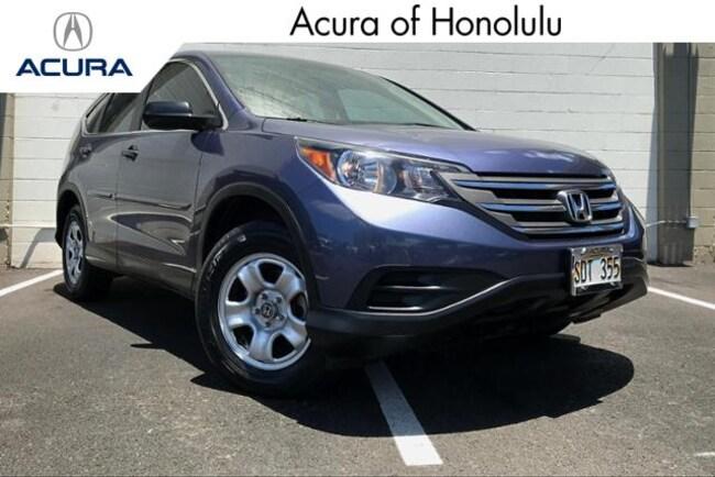 Used 2014 Honda CR-V LX FWD SUV Honolulu, HI