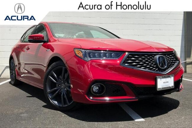 New 2019 Acura TLX 3.5 V-6 9-AT SH-AWD with A-SPEC RED Sedan Honolulu