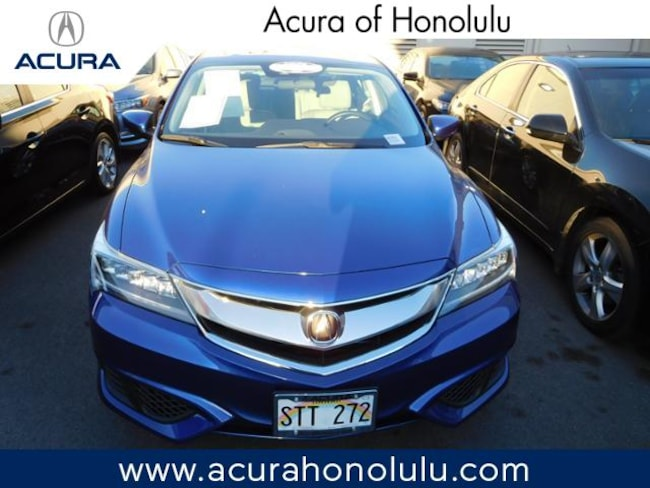 Used 2016 Acura ILX 2.4L w/AcuraWatch Plus Package (A8) Sedan Honolulu, HI