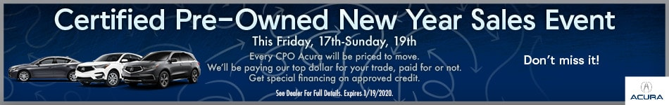 Certified Pre-Owned New Year Sales Event