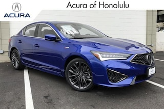 New 2019 Acura ILX with Premium and A-Spec Package Sedan Honolulu, HI
