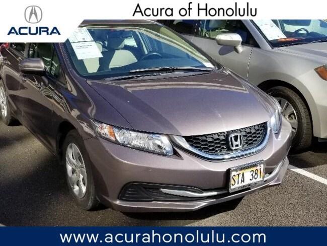 Used 2015 Honda Civic LX Sedan Honolulu, HI