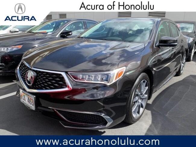 Used 2018 Acura TLX 3.5L Tech Pkg Sedan Honolulu, HI