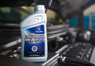 Genuine Acura Oil & Fluids
