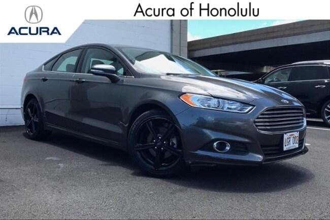 Used 2016 Ford Fusion SE Sedan Honolulu, HI