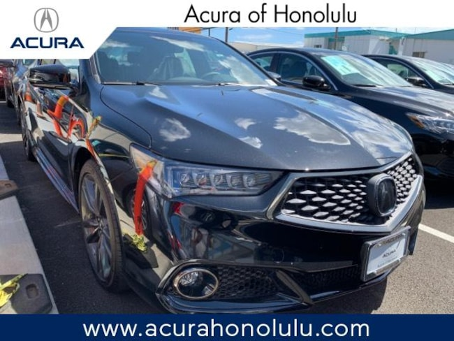 New 2019 Acura TLX 2.4 8-DCT P-AWS with A-SPEC Sedan Honolulu