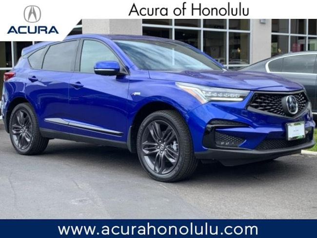 New 2019 Acura RDX with A-Spec Package SUV Honolulu