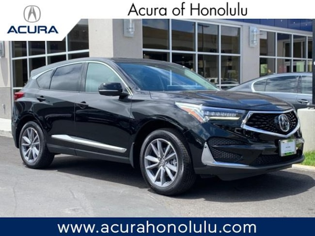 New 2019 Acura RDX with Technology Package SUV Honolulu