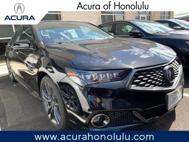 New 2019 Acura TLX 2.4 8-DCT P-AWS with A-SPEC RED Sedan Honolulu