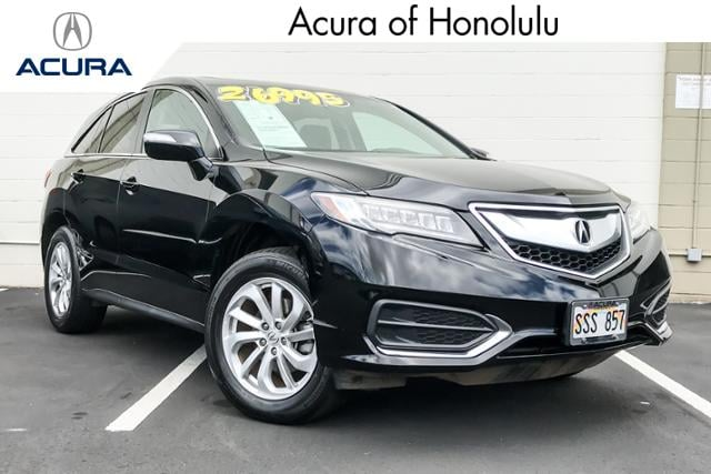 Used Cars Oahu >> Certified Pre Owned Acura For Sale Honolulu Hi Used Car Dealership
