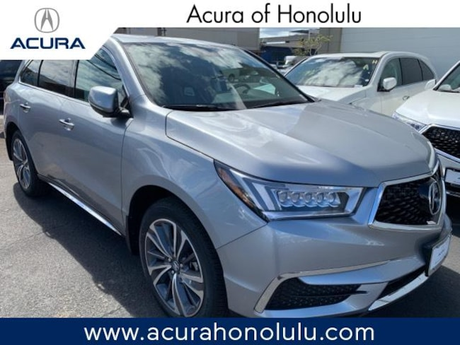 New 2019 Acura MDX with Technology Package SUV Honolulu
