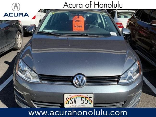 Used 2016 Volkswagen Golf TSI S 2D Manual Hatchback Honolulu, HI