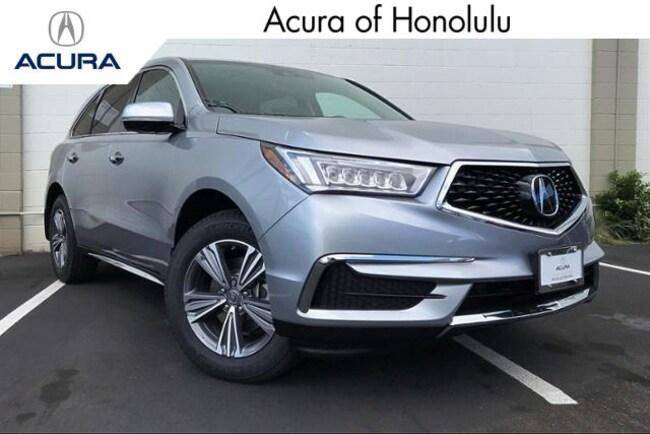 New 2019 Acura MDX Base SUV Honolulu