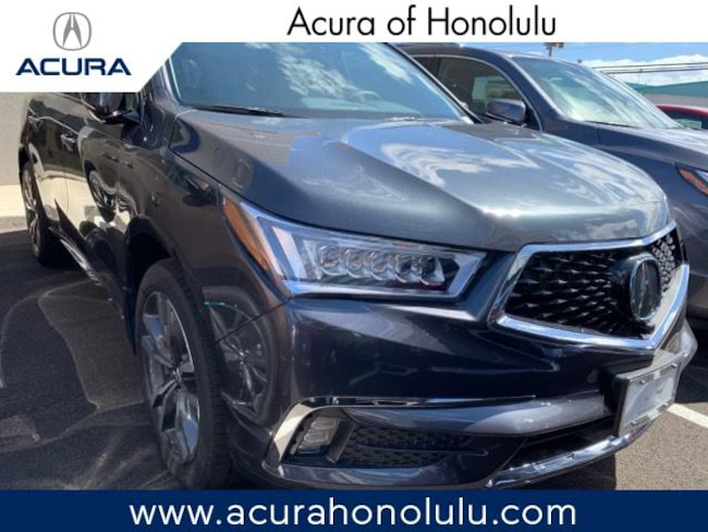 New 2019 Acura MDX with Advance and Entertainment Packages SUV Honolulu