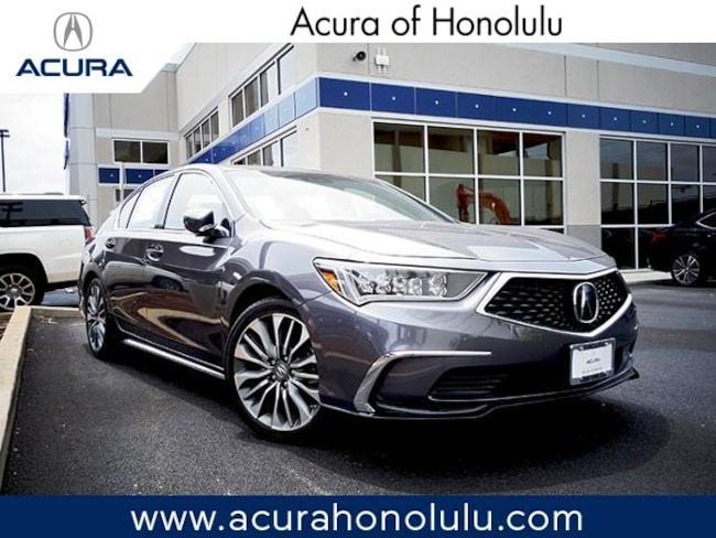 New 2018 Acura RLX with Technology Package Sedan Honolulu