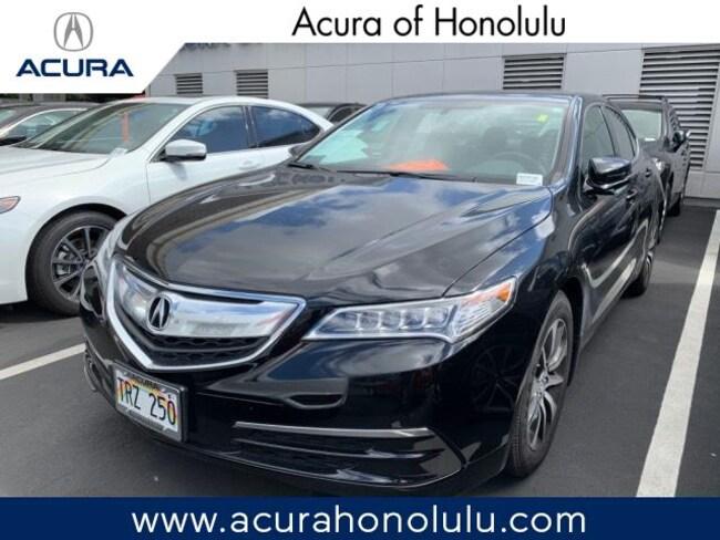Used 2017 Acura TLX Base Sedan Honolulu, HI