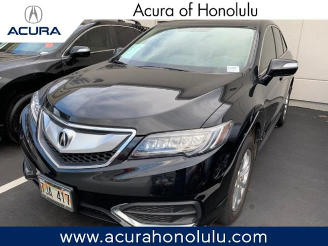 Used 2017 Acura RDX V6 with Technology Package SUV Honolulu, HI