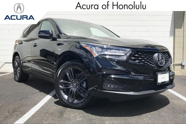 New 2020 Acura RDX SH-AWD with A-Spec Package SUV Honolulu