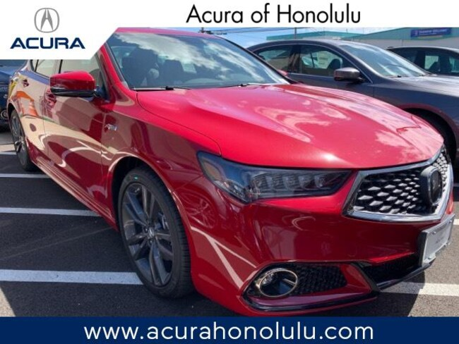 New 2019 Acura TLX 3.5 V-6 9-AT P-AWS with A-SPEC Sedan Honolulu