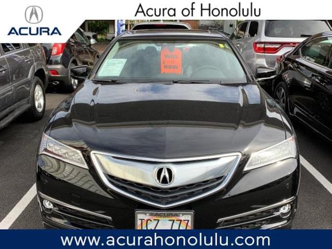Used 2017 Acura TLX V6 with Advance Package Sedan Honolulu, HI