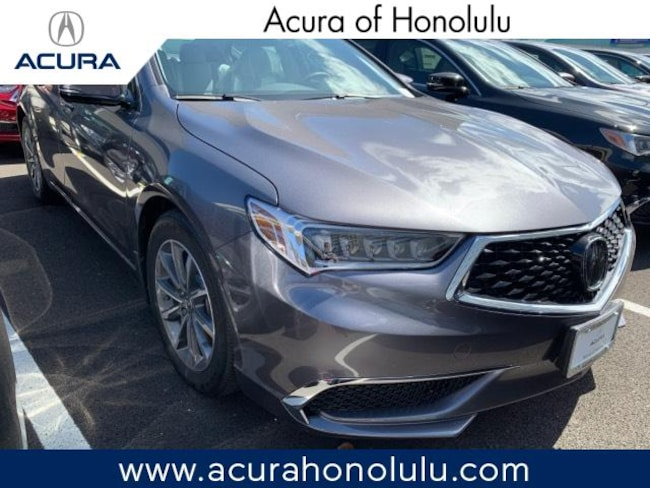 New 2019 Acura TLX 2.4 8-DCT P-AWS with Technology Package Sedan Honolulu
