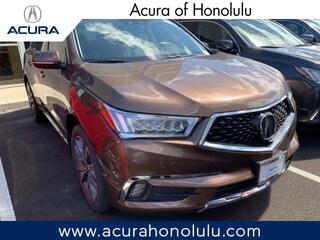 New 2019 Acura MDX with Advance Package SUV Honolulu, HI
