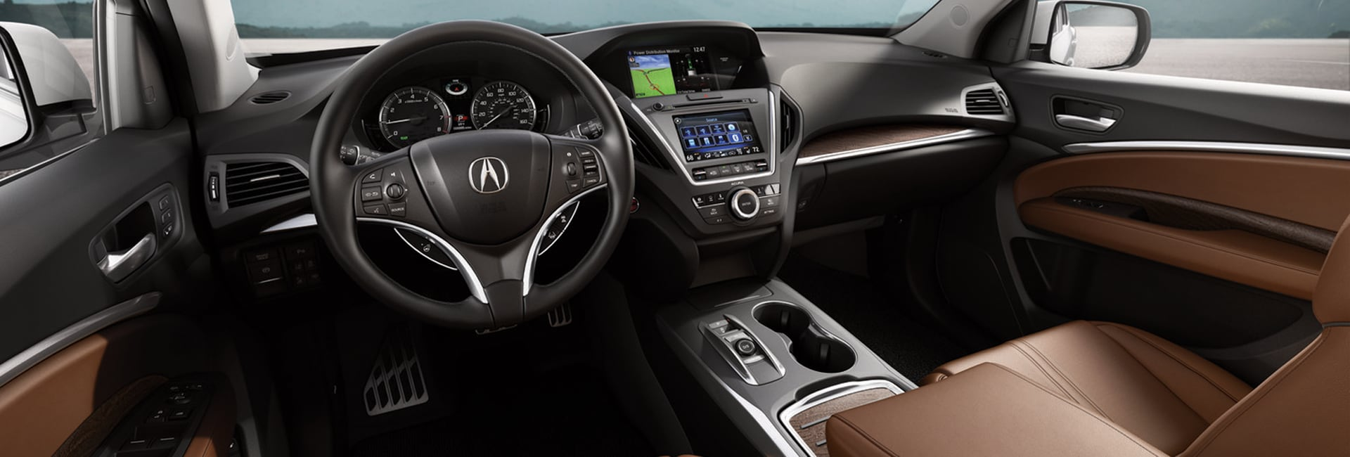 2017 Acura MDX Interior Features