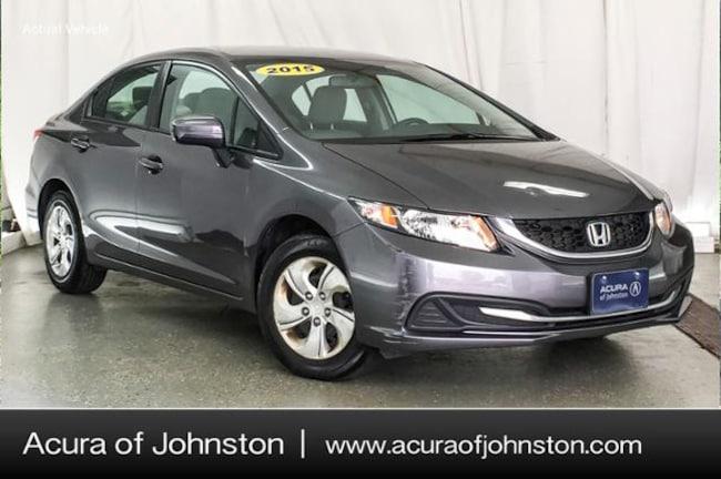 Used 2015 Honda Civic LX Sedan Johnston, IA
