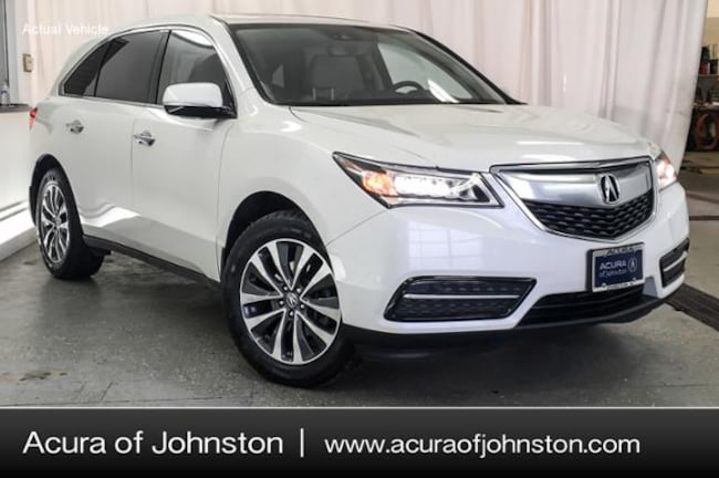 Certified Pre-Owned 2016 Acura MDX MDX SH-AWD with Technology Package SUV Johnston, IA