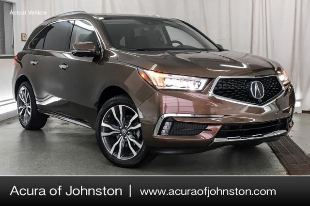 2019 Acura Mdx Sh Awd With Advance Package Suv Canyon Bronze