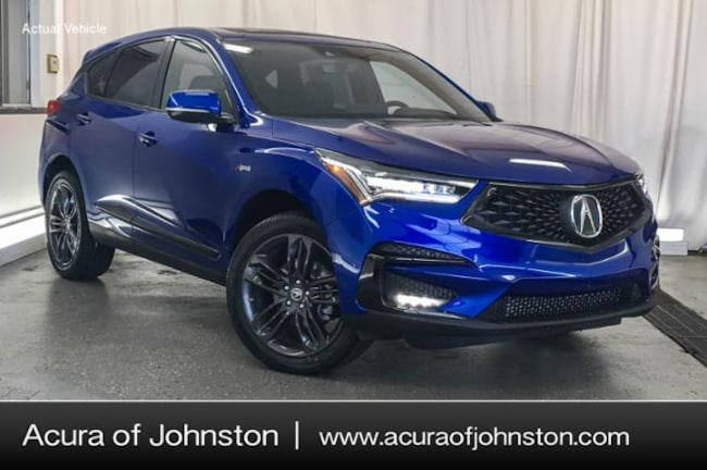 New 2019 Acura RDX SH-AWD with A-Spec Package SUV Johnston, IA