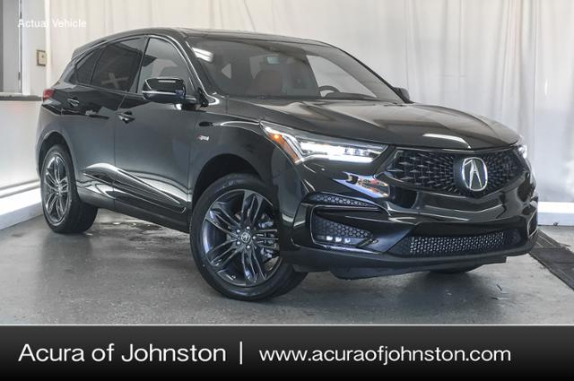 2019 Acura Rdx Sh Awd With A Spec Package Suv Majestic Black Pearl