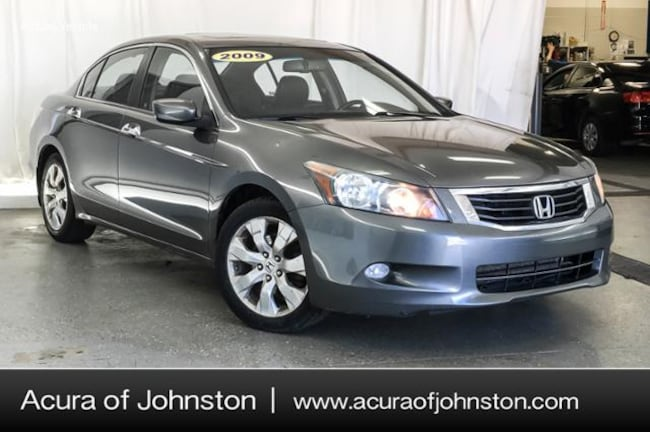 Used 2009 Honda Accord 3.5 EX-L Sedan Johnston, IA