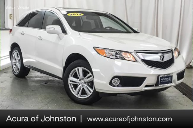 Certified Pre-Owned 2015 Acura RDX Base w/Technology Package (A6) SUV Johnston, IA