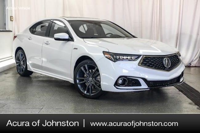 New 2019 Acura TLX 3.5 V-6 9-AT SH-AWD with A-SPEC RED Sedan Johnston, IA
