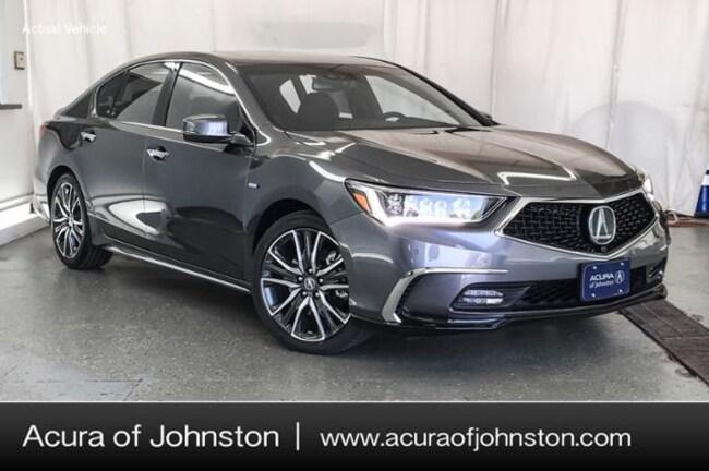 New 2019 Acura RLX Sport Hybrid SH-AWD with Advance Package Sedan Johnston, IA