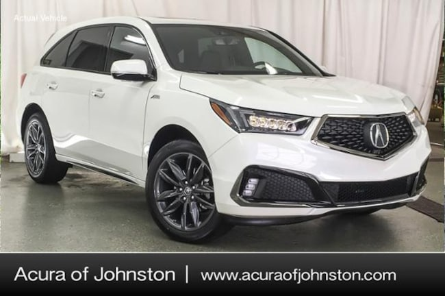 New 2019 Acura MDX SH-AWD with A-Spec Package SUV Johnston, IA