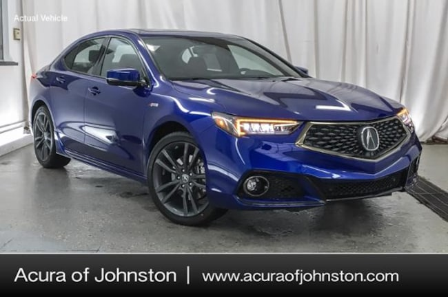 New 2019 Acura TLX 3.5 V-6 9-AT SH-AWD with A-SPEC RED Sedan Johnston, IA