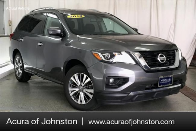 Used 2018 Nissan Pathfinder SV SUV Johnston, IA