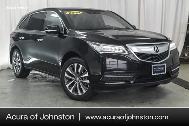 Used 2016 Acura MDX MDX SH-AWD with Technology Package SUV Johnston, IA