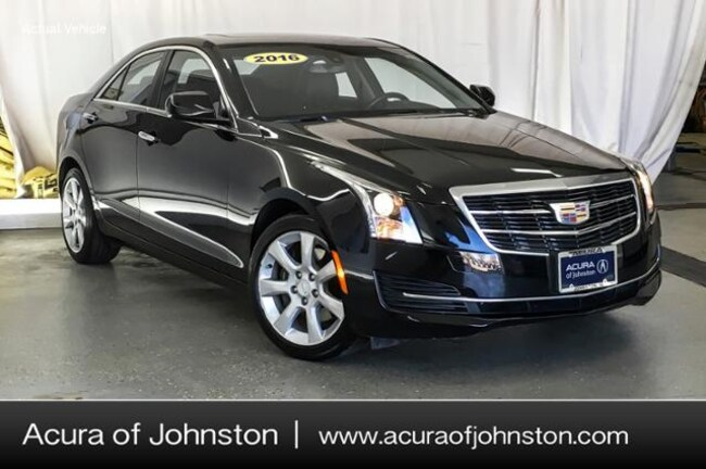 Used 2016 CADILLAC ATS 2.0L Turbo Standard Sedan Johnston, IA