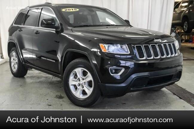 Used 2015 Jeep Grand Cherokee Laredo 4x4 SUV Johnston, IA