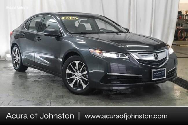 Used 2016 Acura TLX Base (DCT) Sedan Johnston, IA
