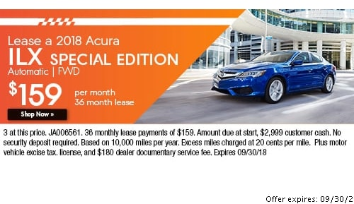 Acura Leasing Offers In Johnston Acura Of Johnston - Acura mdx lease specials