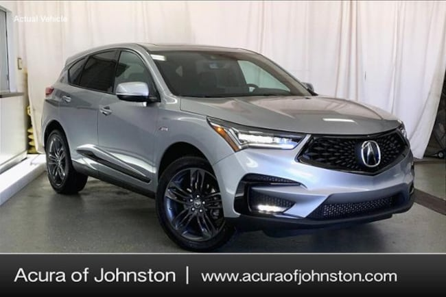 New 2020 Acura RDX SH-AWD with A-Spec Package SUV Johnston, IA