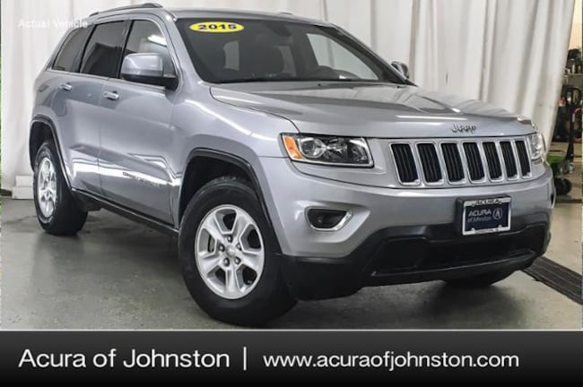 Used 2015 Jeep Grand Cherokee Laredo 4x4 SUV Johnston, IA