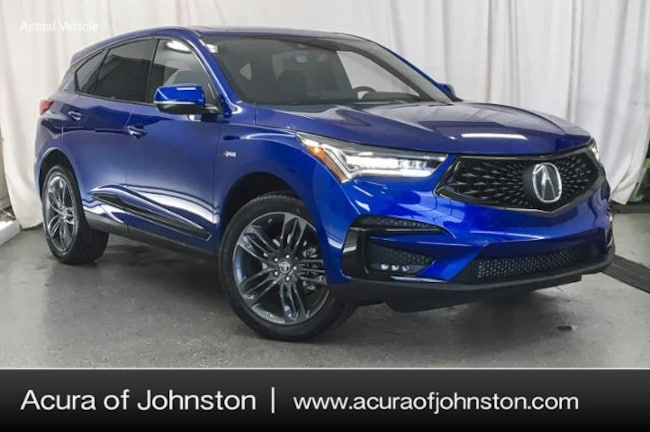 New 2019 Acura RDX with A-Spec Package SUV Johnston, IA