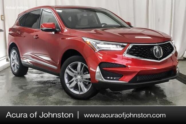 New 2019 Acura RDX SH-AWD with Advance Package SUV Johnston, IA